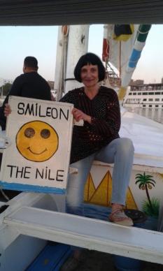 Margita v Egyptě