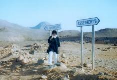 Margita pod horou Assekrem (Alžírsko)