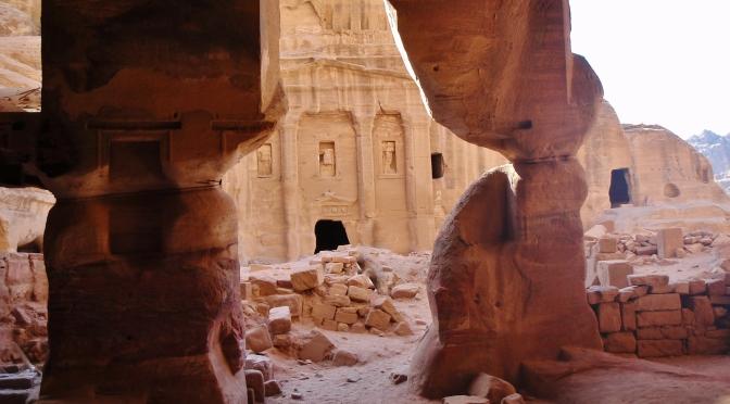 Koupání a památky Jordánska